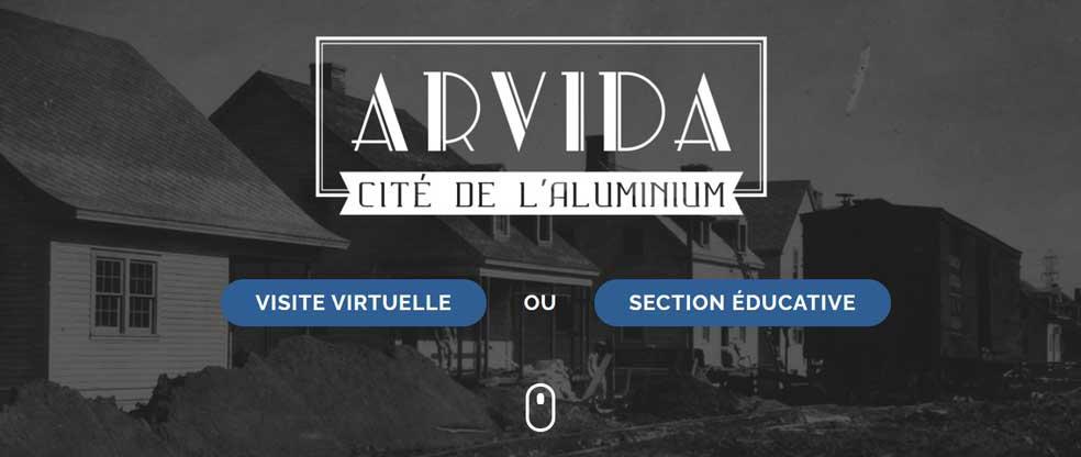 Arvida cité de l'aluminium