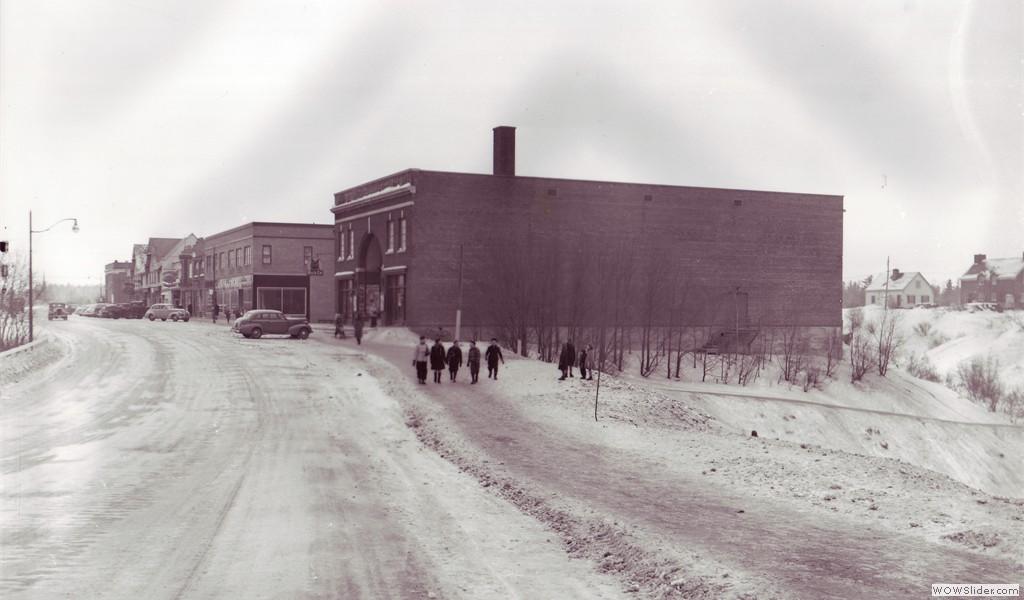 Théâtre Palace Arvida, circa 1940's